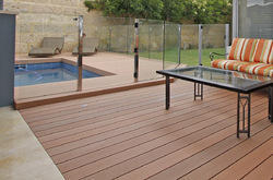 Wooden Swimming Pool Deck