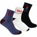 Men Self Design Ankle Length Socks