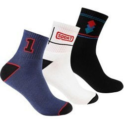 Men Self Design Ankle Length Socks
