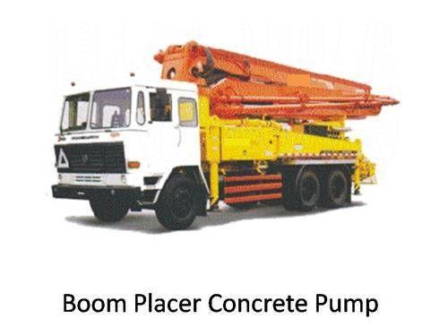 Concrete Pump With Boom Placer, Dhwani Enterprise   ID: 7634959073