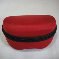 Red Sunglass Case