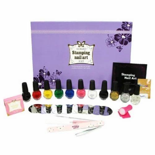 Konad Stamping Kits Anniversary Party Nail Art Services Service