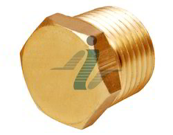 Brass Hex Pipe Plug