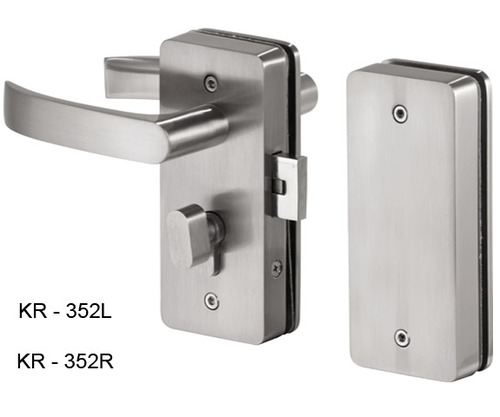 Krome Glass Door Locks Door Window Hinges Fittings Glitorium