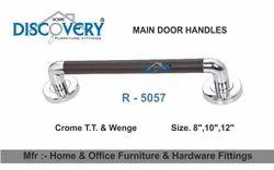 Round Wenge Door Pull Handle
