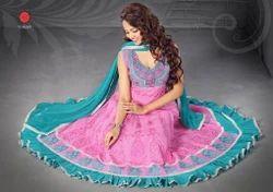 Ladies Cotton Punjabi Dress
