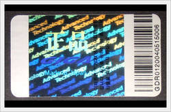 Hologram Security Labels Printing Services