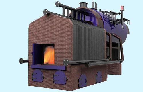 Smoke Cum Water Tube External Furnace Steam Boilers