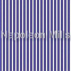 Blue Stripes Polyester Fabrics