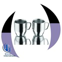 Silver Cappuccino SS Mug for Home
