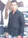 Black Linen Casual Shirt