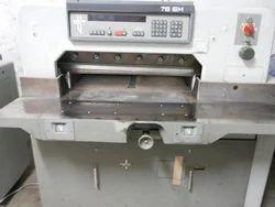 Polar 76 EM Paper Cutting Machines