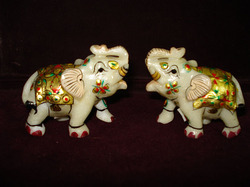 Handcrafted Elephants