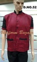 Restaurant Uniform In Red And Black Colour