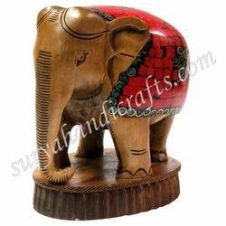 Handmade Wooden Elephant