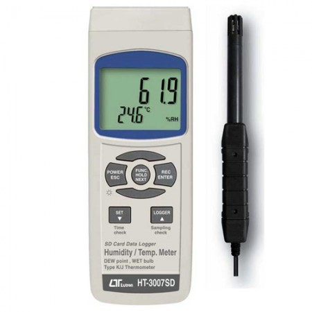 Lutron Humidity & Temperature Meter