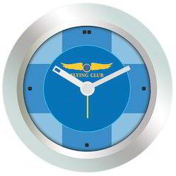 Flying Club Analog Table Clock
