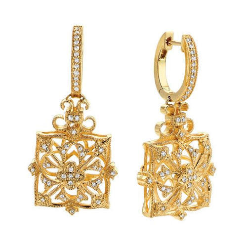 0be0fce45 Yellow Gold Earring in Jaipur, सोने की बाली, जयपुर, Rajasthan | Yellow Gold  Earring Price in Jaipur