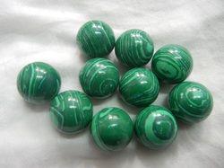 Big Size Plain Malachite Balls