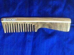Polished Wood Comb