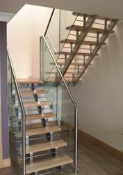 Charmant Stainless Steel Staircase