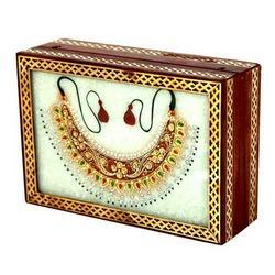 Marble Wooden Box