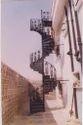 Cast Iron Spiral Stair Case