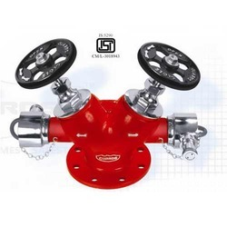 Double Outlet SS Type Landing Valve