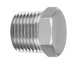 Stainless Steel Hex Plug, for Construction