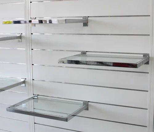 Glass Shelves On Slatwall Panel Sai Fab Engineers Amp Co