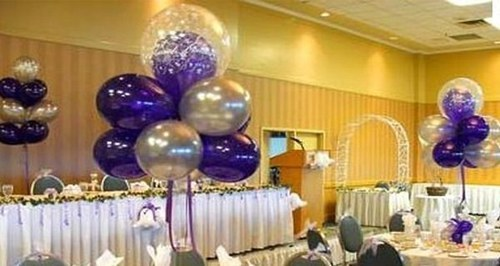 Center Table Balloon Decor ब ल न ड क र शन स व ए