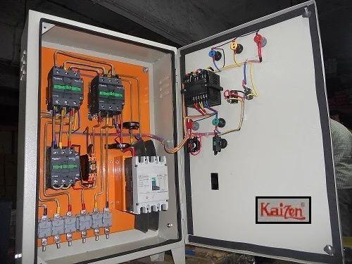 Motor Starter Control Panel 3 Phase Motor Starter Manufacturer From Ahmedabad