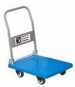 Rubber Fiber Stack Easy Hand Trolley, For Material Handling, Capacity: 300kg