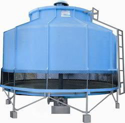 Cooling Tower with Basin Round