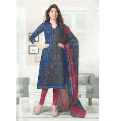 Ladies Designer Suit - Silk Designer Suit Wholesaler from Chennai