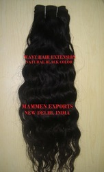 Natural Indian Human Hair Wavy