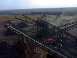 Three Stage Stone Crusher Plant