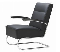 Leather 1 Seater Executive Office Chair