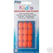 Flents Kid's Silicone Ear Plugs 6 Pairs