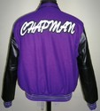 Purple Black Varsity Jacket