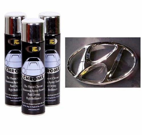 chrome effect spray paint at rs 300 no s chrome spray. Black Bedroom Furniture Sets. Home Design Ideas