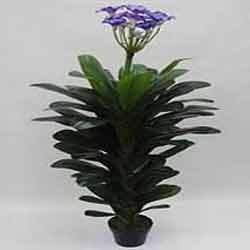 Plastic Artificial Plants Artificial Orchid Plant, for Home