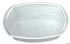 Poly Carbonate Chat Plate Square