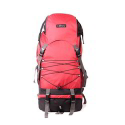 Red Rucksack Bag