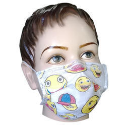 Filtra Disposable 3 Ply Kids Activated Carbon Mask, Ear loop