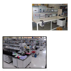 Pressure Test Bench for Laboratory
