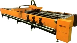 Plates and Pipes Fiber Laser Cutting Machine with Daul Drive