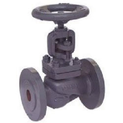 Zoloto Cast Iron Globe Steam Stop Valve Flanged