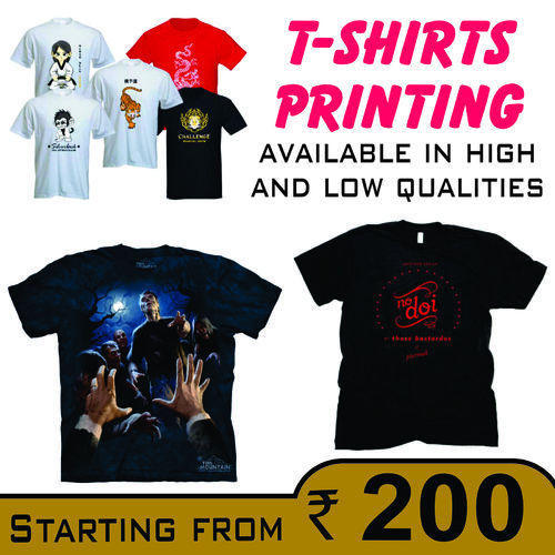 f4a393109 T-Shirt Printing Services, Custom Made T Shirts, Customised T Shirts ...