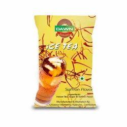 Saffron Flavor Ice Tea